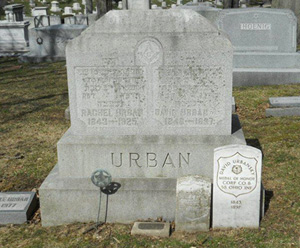 Image of David Urbansky Grave